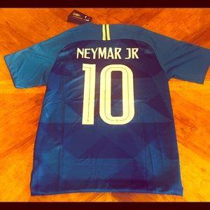 Nike Neymar Jr Brazil World Cup Away Jersey